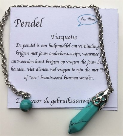 Pendel (Turquoise)