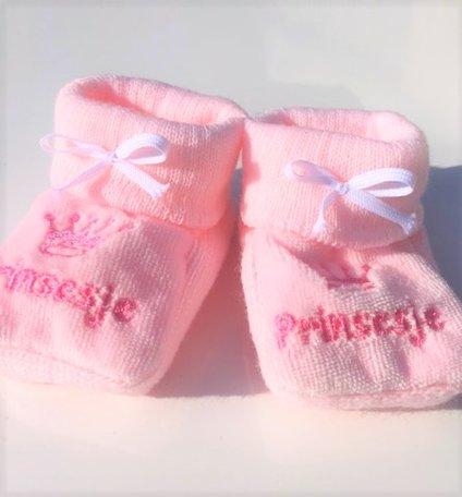 Slofjes, prinsesje (roze)