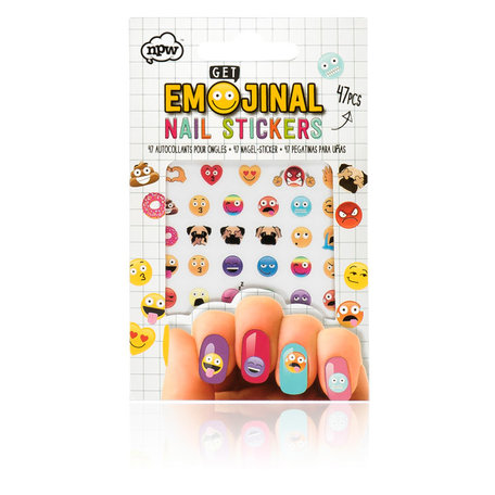 Emoji Nail Stickers