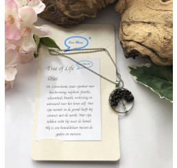 Tree of Life ketting (Onyx)