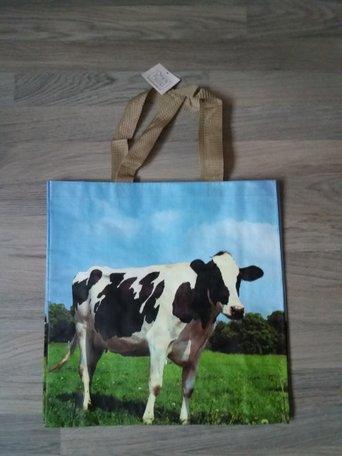 Tas met dierenprint, koe