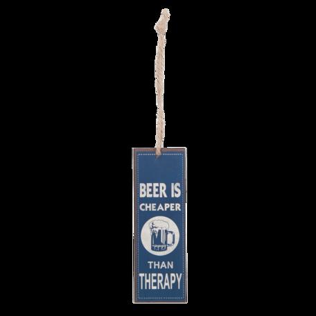 Boekenlegger beer is cheaper than therapy