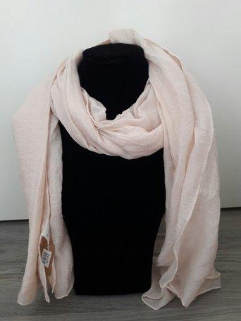 Sjaal zalmkleurig