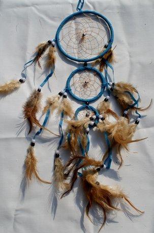 Dromenvanger (turquoise) met 3 ringen