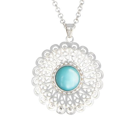 Ketting, turquoise