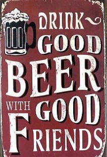bordje Drink good beer..