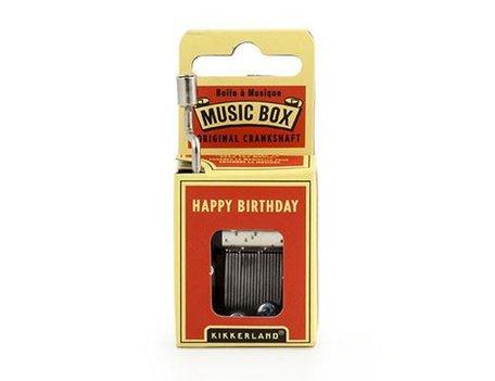 Muziekbox Happy Birthday