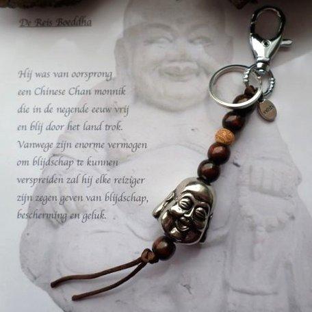 De reis Boeddha (Zilver)