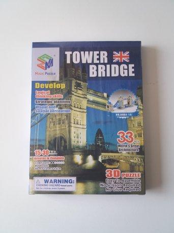 3d puzzel Towerbridge