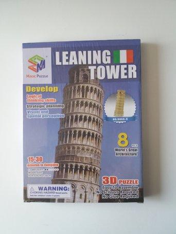 3d puzzel toren van Pisa