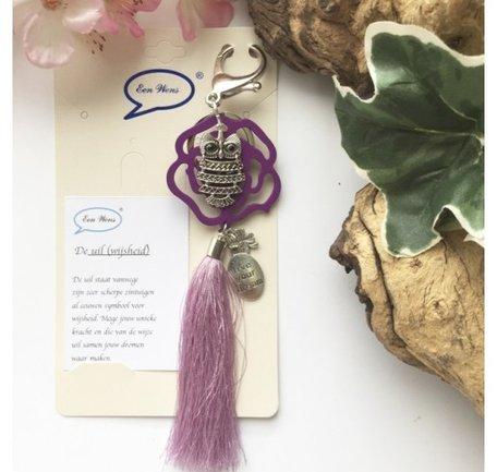 De uil  (lila/paars)
