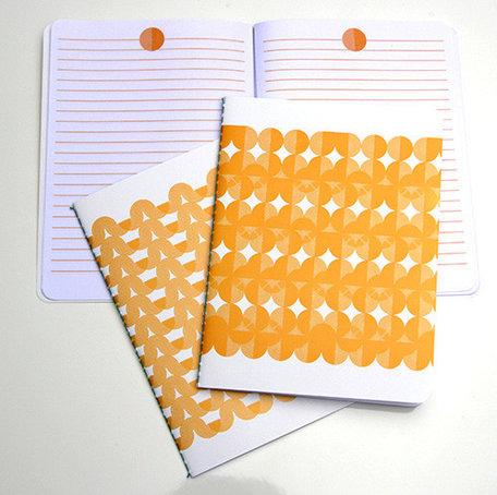 2 schriftjes geel
