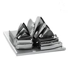 3d puzzel metaal, Sydney Opera House