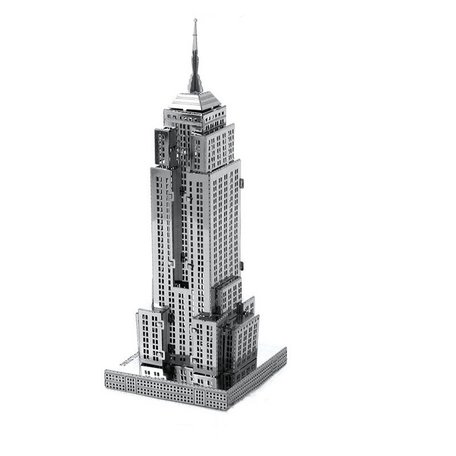 3d puzzel metaal, Empire State Building