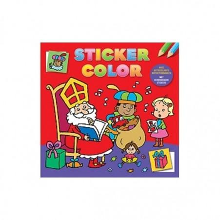 Sticker en kleurboek Sinterklaas