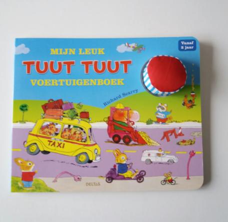Mijn leuk Tuut Tuut voertuigenboek