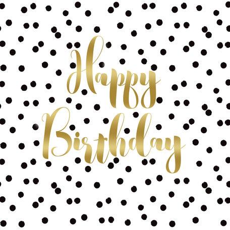Servetten, Happy Birthday