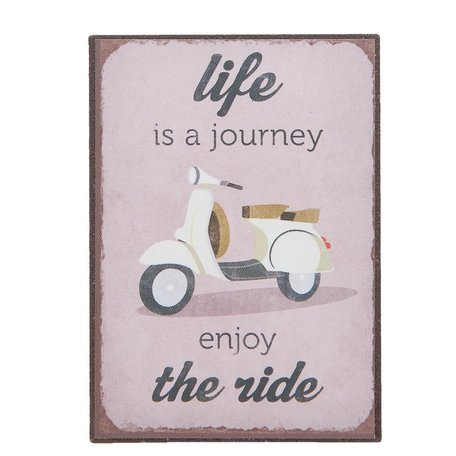 Life is a journey, magneet