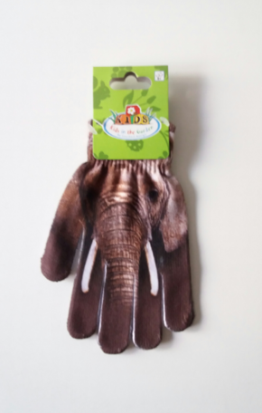 Kinderhandschoen Olifant