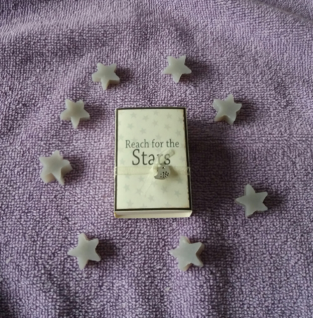 Reach for the stars (doosje met zeepjes)