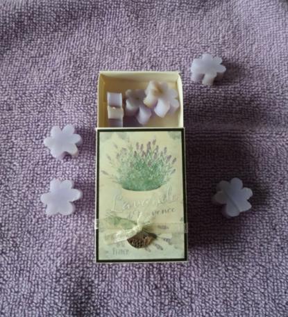 Lavendel (doosje met zeepjes)