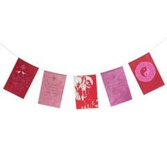Wensvlaggetjes, liefde (rood)