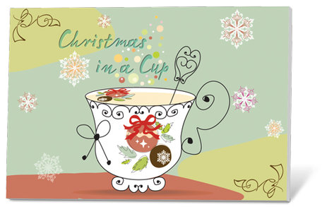 Christmas in a cup (thee)