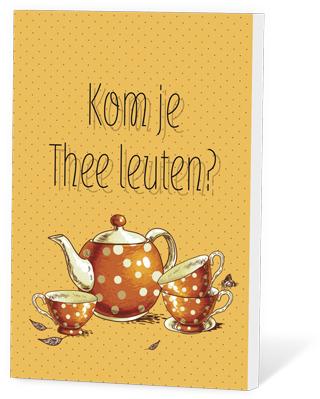 Kom je thee leuten?