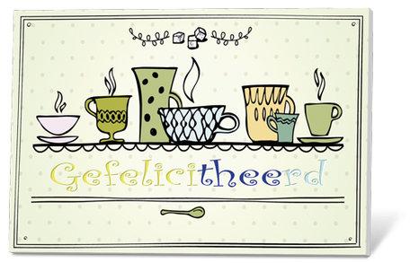 GefeliciTHEErd (thee met een kaartje)