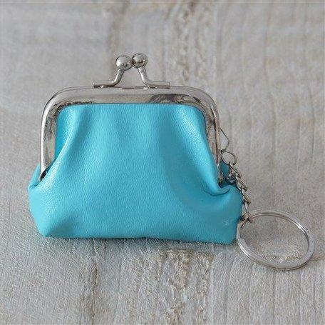 Portemonnee blauw klein