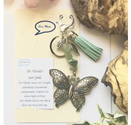 Vlinder met Jade