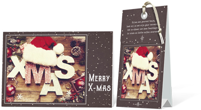 Merry X-mas (geurtasje)