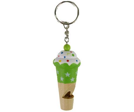 Sleutelhanger ijsje (groen)
