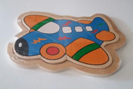 Puzzel vliegtuig