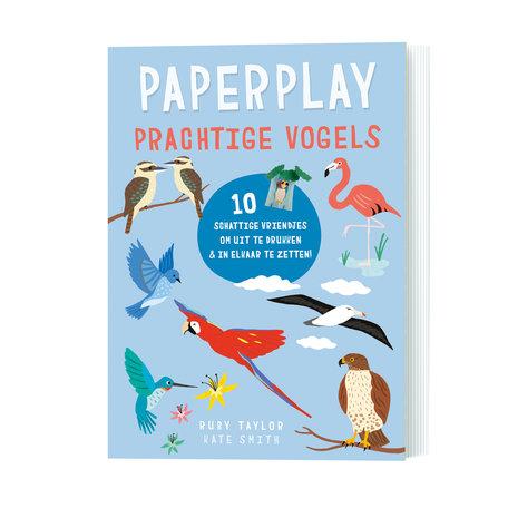 Paperplay prachtige vogels