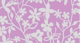 Waxine cover bloem (paars)