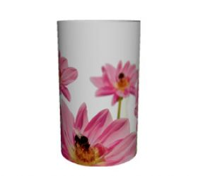 Waxine cover bloem/bij