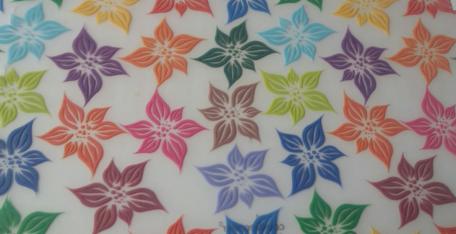 Waxine cover bloemen
