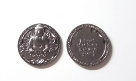 Lucky coin boeddha