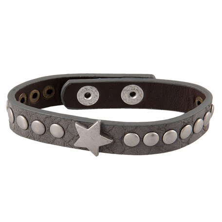 Stoere armband met ster