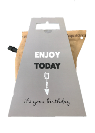 Koffie, enjoy today, it's your birthday!