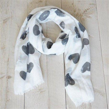 Sjaal, wit