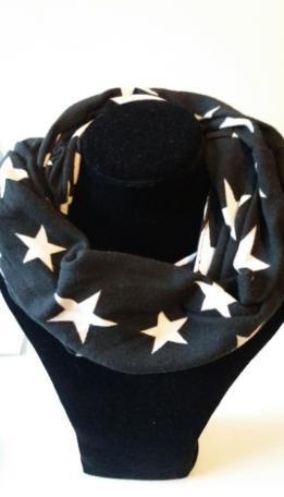 Sjaal, zwart