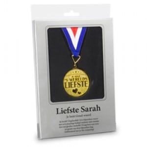 Sarah, gouden medaille
