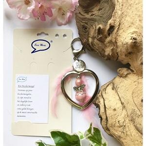 Beschermengelhanger (roze)