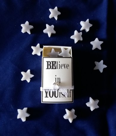 Zeepjes, BElieve in YOUrself