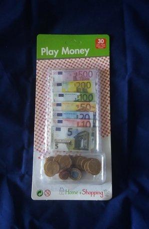 Geld, speelgoed