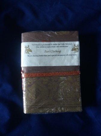 Boekje met koord (bruin)
