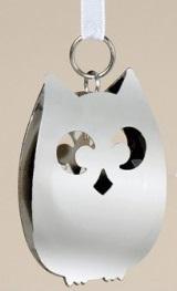 Zilveren decoratie hangers