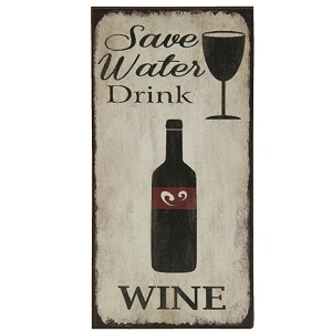 Magneet, Save water drink wine